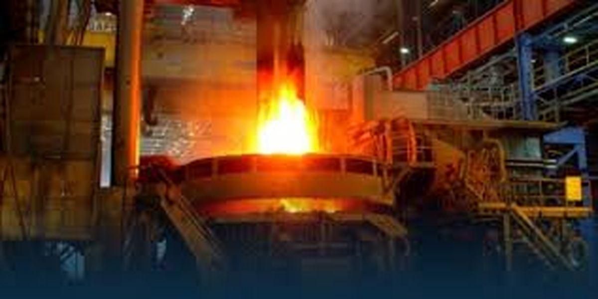 تعمیرات موفقیت آمیز تعویض مخروطی کنورتور بخش فولادسازی ذوب آهن اصفهان