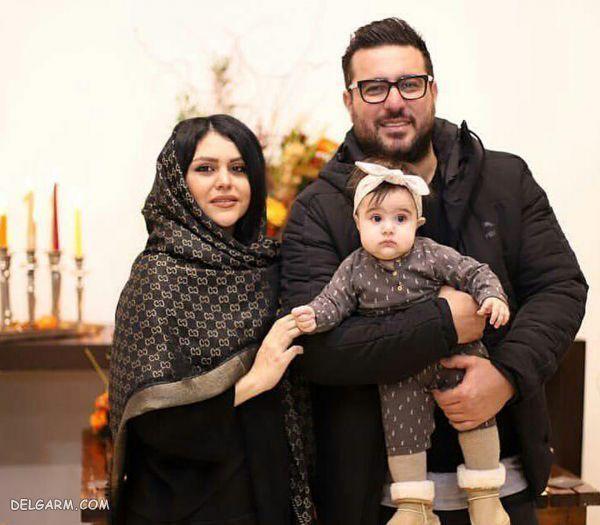 بیوگرافی محسن کیایی و همسر جوانش + تصاویر