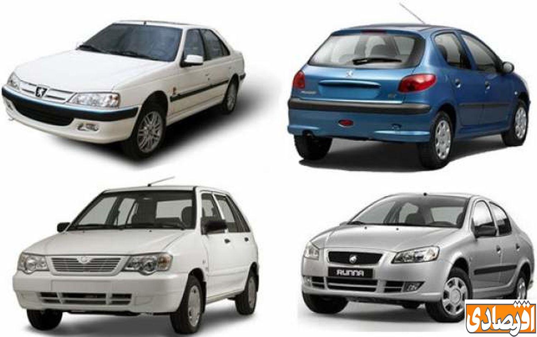 اخرین قیمت خودرو در بازار پنجشنبه 24 بهمن + جدول