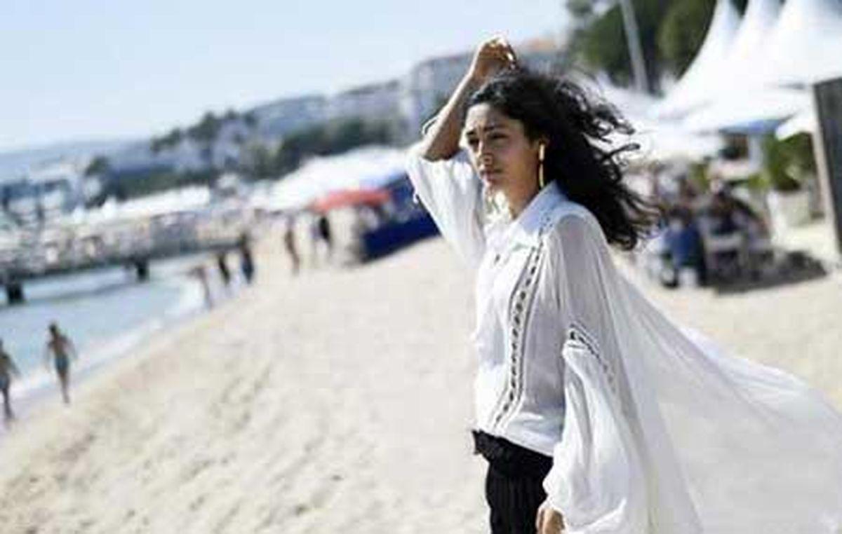 رقص مست گلشیفته فراهانی در سواحل فرانسه + فیلم جدید