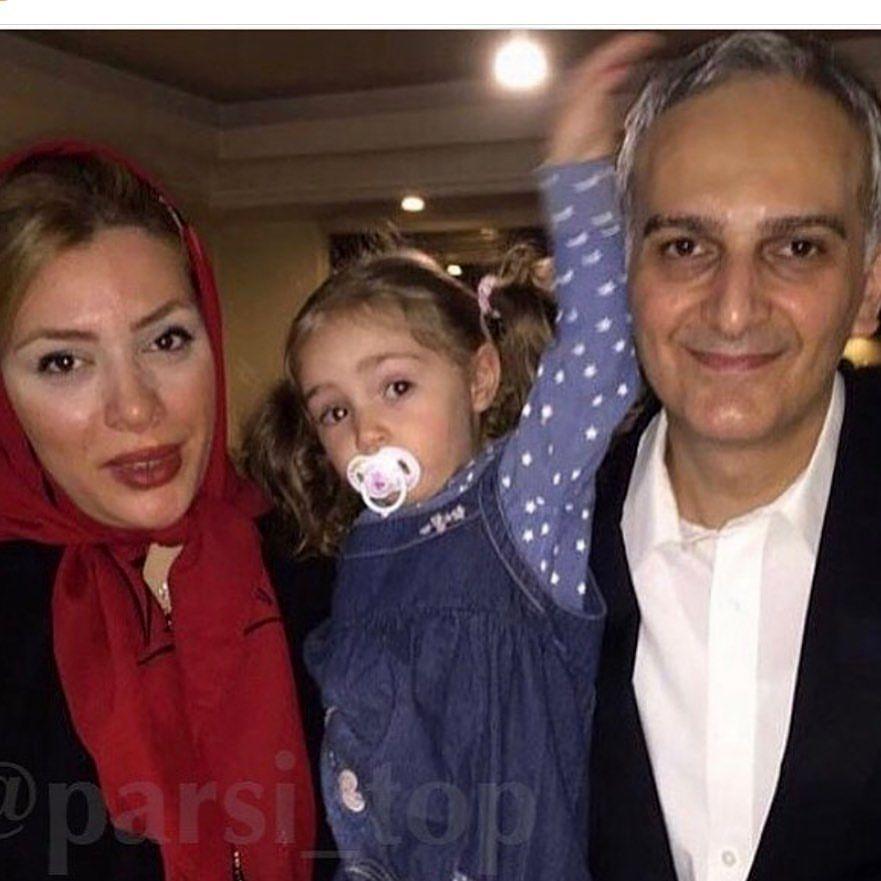 بیژن بنفشه خواه و همسر و فرزندانش + عکس