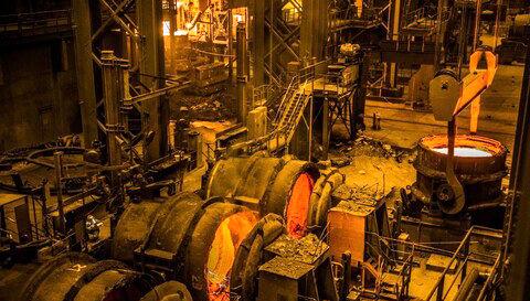 رشد ۳ ماهه تولید تختال در فولاد مبارکه معادل ایجاد یک واحد فولادسازی است