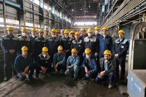 دیدار مدیرعامل ذوب آهن اصفهان با تلاشگران راه آهن و ترابری و آگلومراسیون