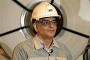 تبریک  حمیدرضا عظیمیان مدیرعامل فولاد مبارکه به مناسبت عبور از تولید ۷ میلیون تن تختال