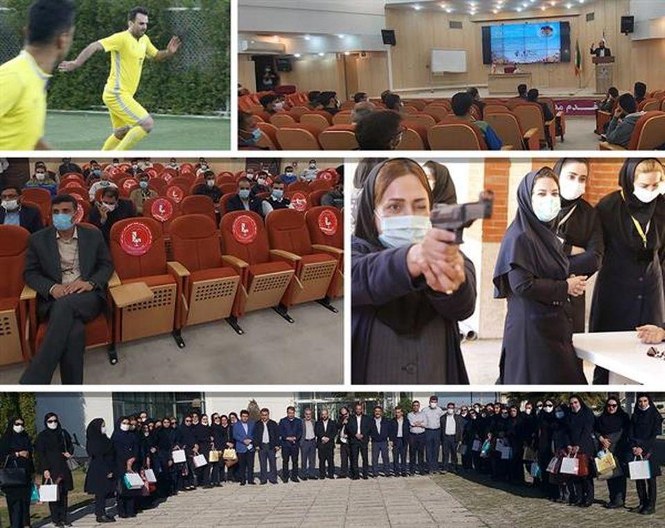 گرامیداشت چهل و دومین سالگرد پیروزی انقلاب اسلامی در پتروشیمی امیرکبیر