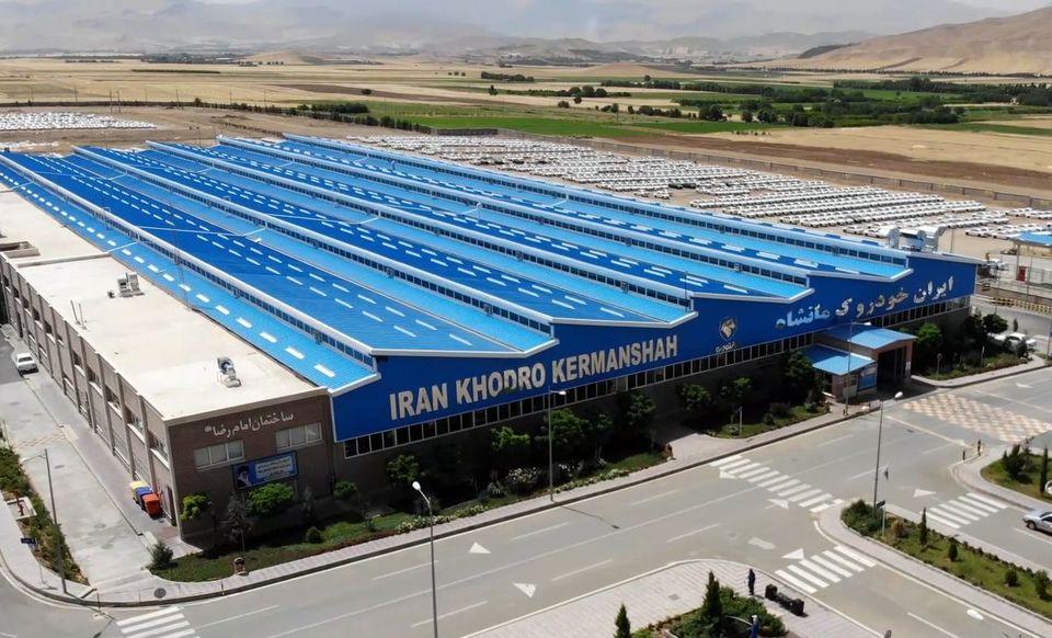 رشد ۲۲ درصدی تولید در ایران خودرو کرمانشاه
