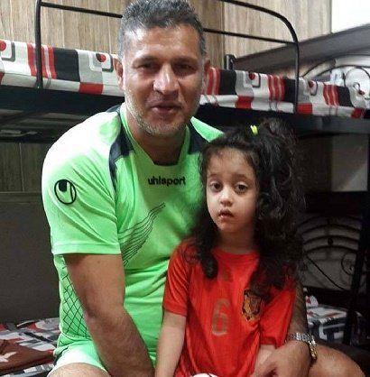 دایی و دخترش
