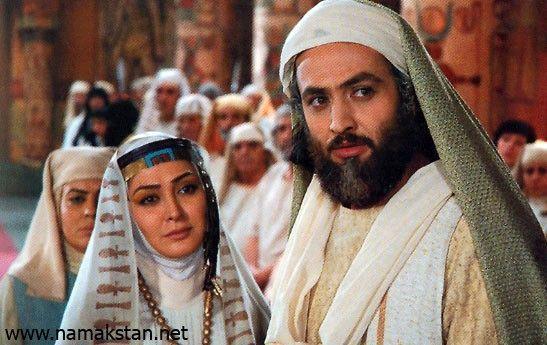 مصطفی زمانی و الهام حمیدی در یوسف پیامبر