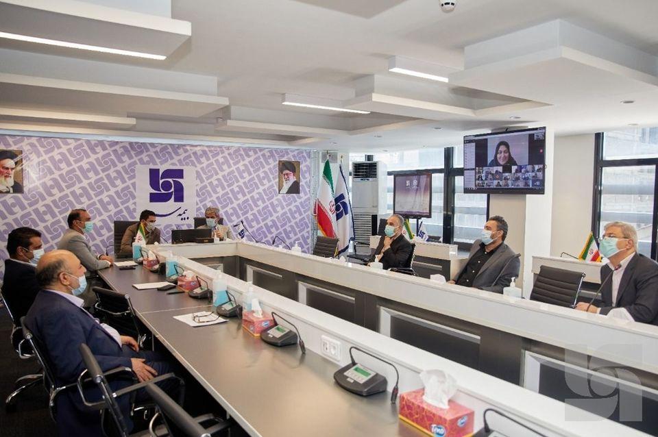 برگزاری جلسه آنلاین شورای مدیران بیمه سرمد با روسای شعب و مدیران استانی