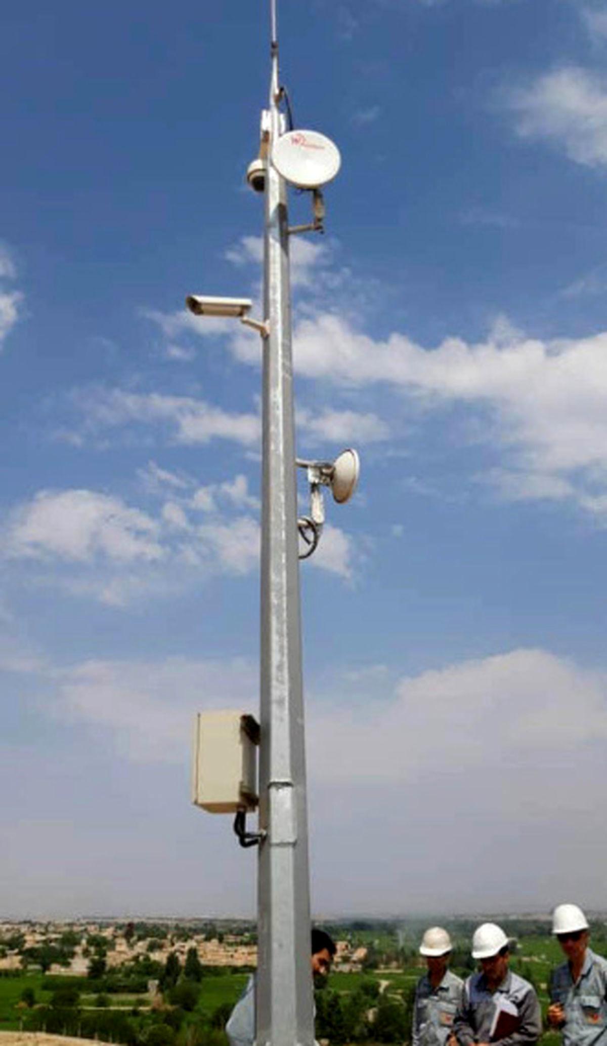 طراحی، ساخت، نصب و راهاندازی دوربینهای نواحی مختلف فولاد مبارکه