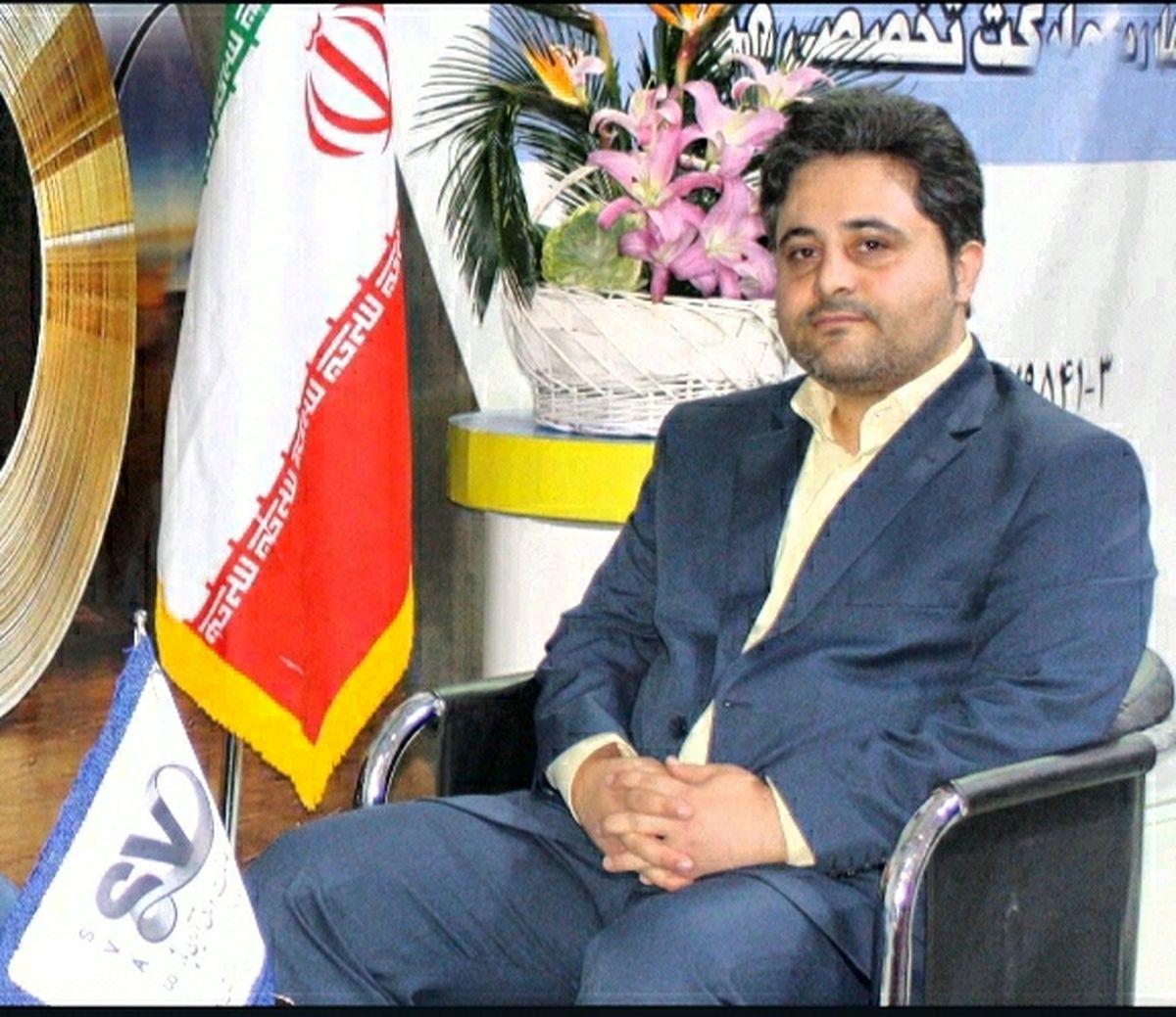 تبریک مدیر عامل شرکت صنعت ورق آرین پاژ به  علیرضا رزم حسینی  وزیر محترم صنعت، معدن و تجارت