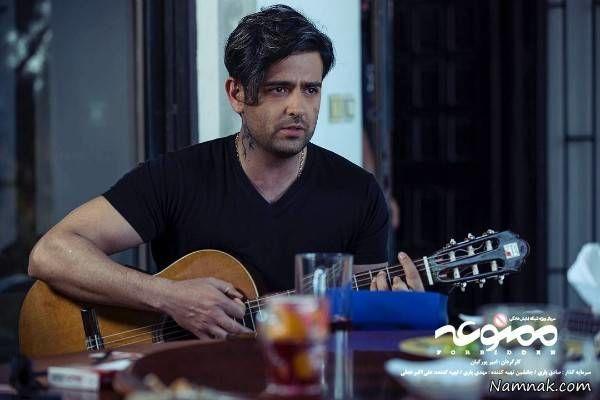 امیر حسین ارمان از همسرش رونمایی کرد فیلم