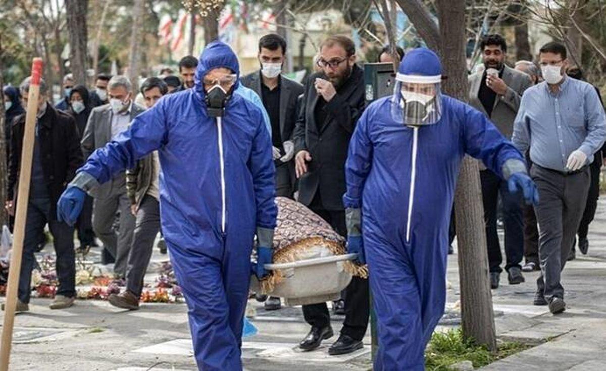 فیلم لورفته از  غسل و کفن و دفن فوتشدگان مبتلا به کرونا +عکس