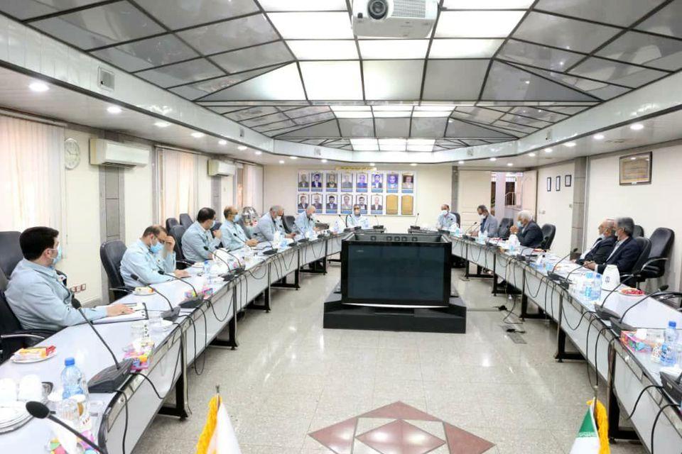 دومین جلسه بررسی مشکلات بازنشستگان فولاد خوزستان برگزار شد