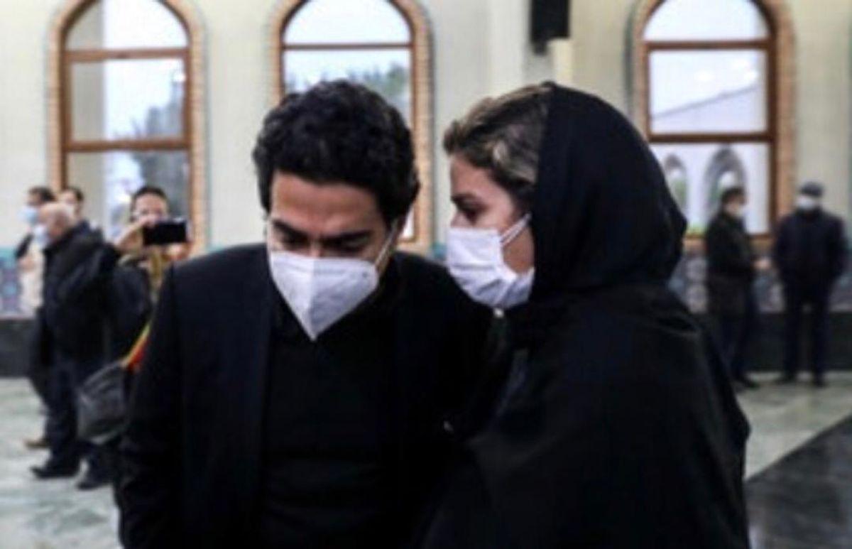 استایل لاکچری سحر دولتشاهی در مراسم تشییع محمدرضا شجریان + عکس