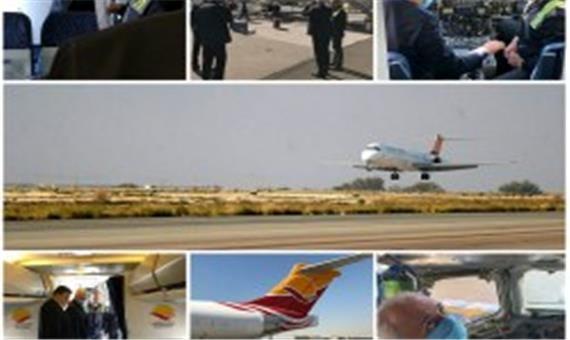 بازگشت هواپیمای EP-LCN شرکت هواپیمایی کیش به ناوگان عملیاتی