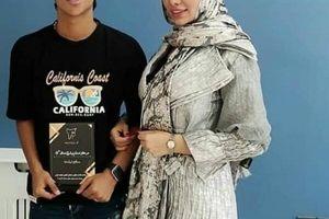 فیلم خصوصی مهدی قائدی و همسرش قبل دربی لورفت + فیلم لورفته