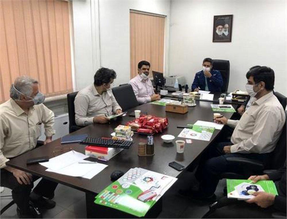 جلسه همکاری مسئولان فولاد خوزستان و دانشگاه شهید چمران اهواز