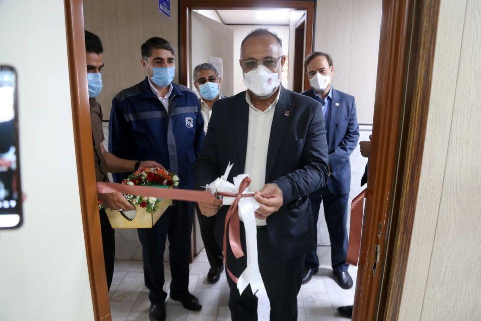 افتتاح اولین پایگاه انتقال خون در شهرستان بافق