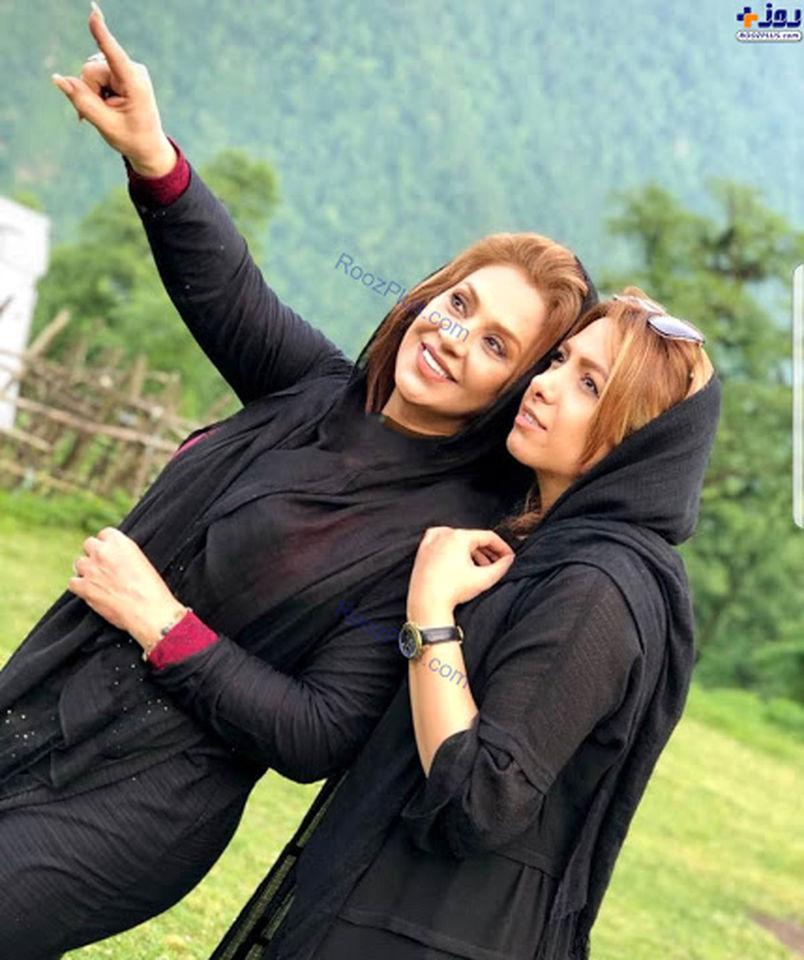 نسرین مقانلو در جشن تولد خانم بازیگر + عکس