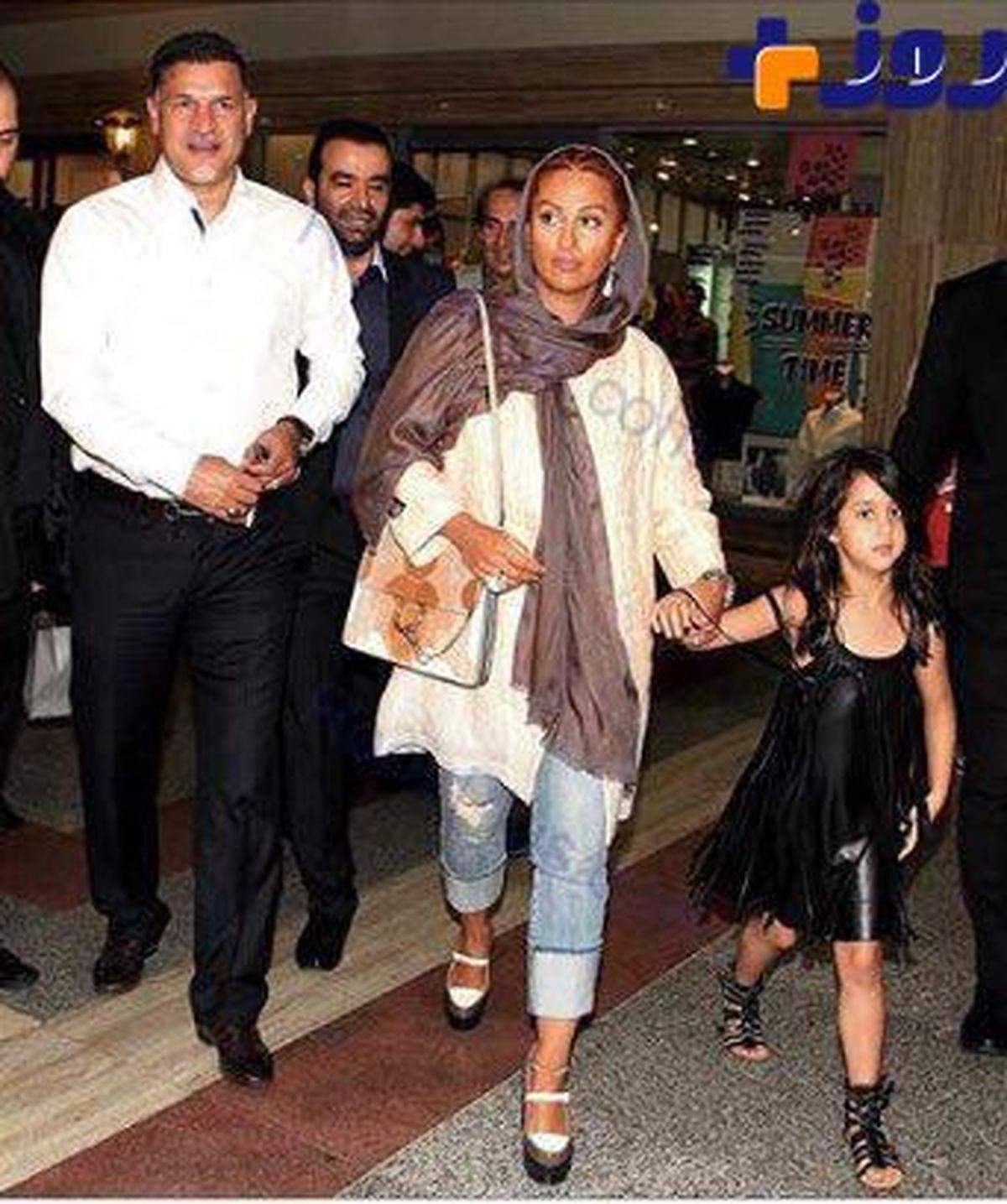 عکس علی دایی و دخترش از ازدواج مجدد + عکس همسر دوم