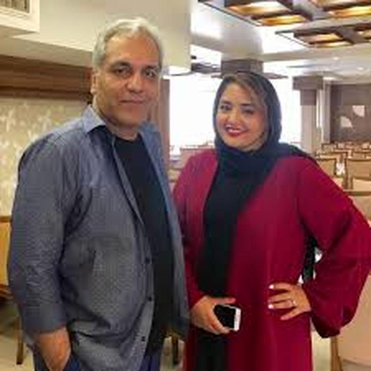 مهران مدیری | سلفی جنجالی شبنم مقدمی بغل مهران مدیری + عکس