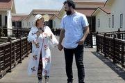 عکس جدید بهاره رهنما و همسر جدیدش + تصویر