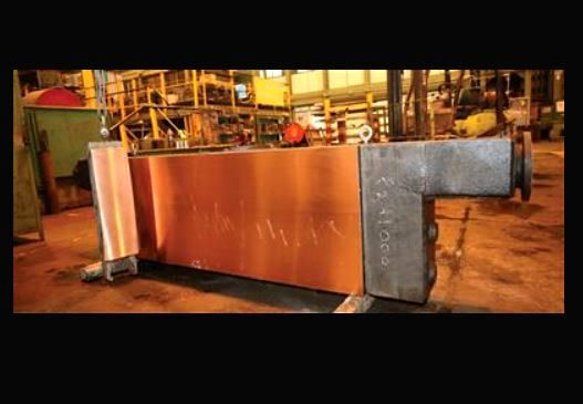 بومیسازی صفحات مسی قالب ریختهگری شرکت فولاد مبارکه