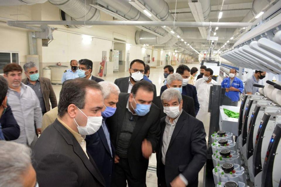 آغاز عملیات ۳۸۰۰ میلیاردی احداث واحد های بافندگی و چاپ بافت بلوچ