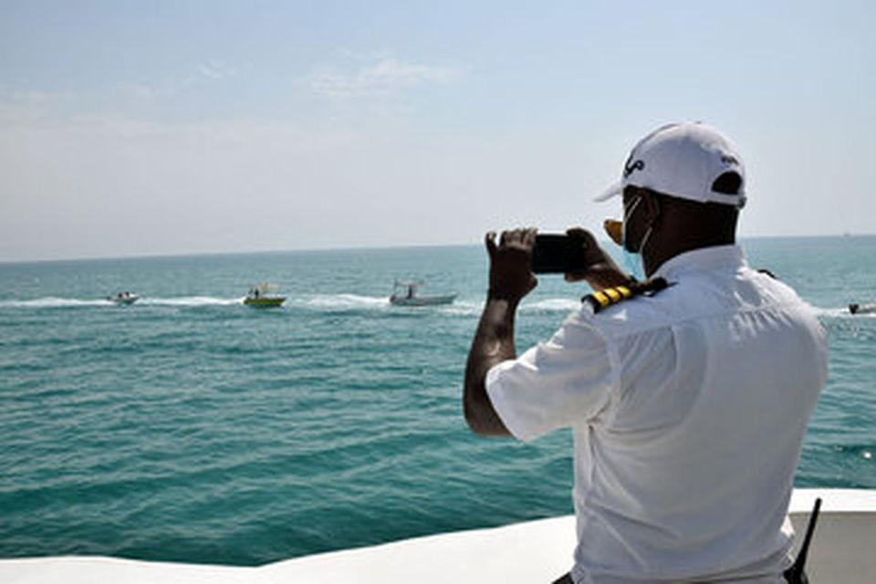 رژه دریایی گرامیداشت روز ملی خلیج فارس در کیش