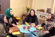 دعوای شدید بهاره رهنما و فلور نظری در شام ایرانی جنجالی شد + فیلم لورفته