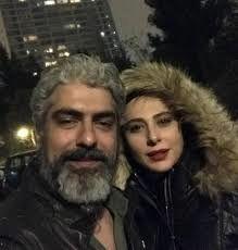 مهدی پاکدل با رعنا ازادی ور ازدواج کرد + عکس دونفره در کنار هم