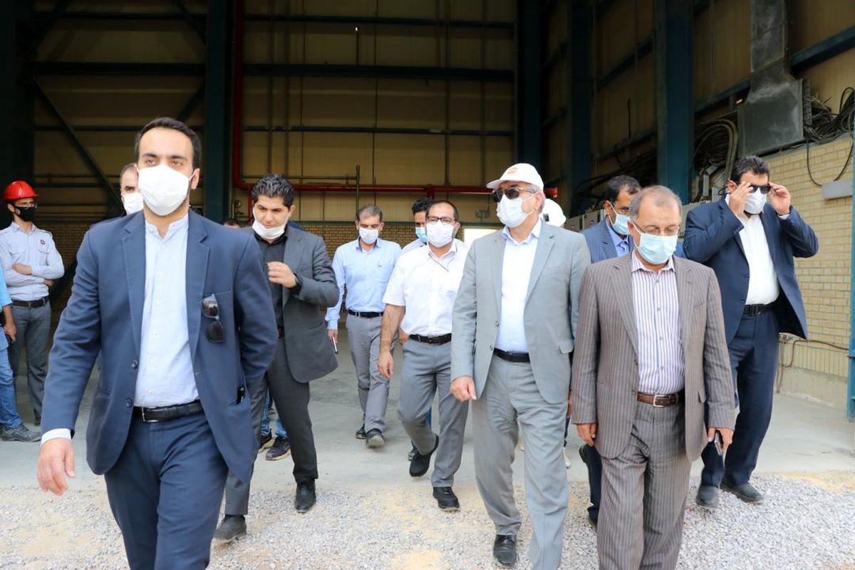 مشاور رییس جمهوری از پروژه های شرکت تولید انرژی گستر قشم بازدید کرد