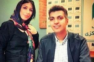 عادل فردوسی پور از همسر جوانش رونمایی کرد + عکس دونفره