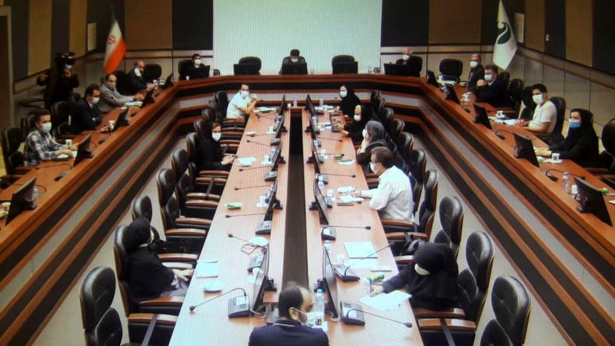 گزارش تصویری نشست خبری شورای سلامت کیش با محوریت اقدامات در بحث کنترل کرونا