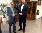 دیدار نماینده مردم میانه در مجلس با مدیرعامل شرکت ملی فولاد ایران
