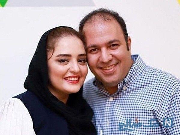 عکس علی اوجی و همسرش