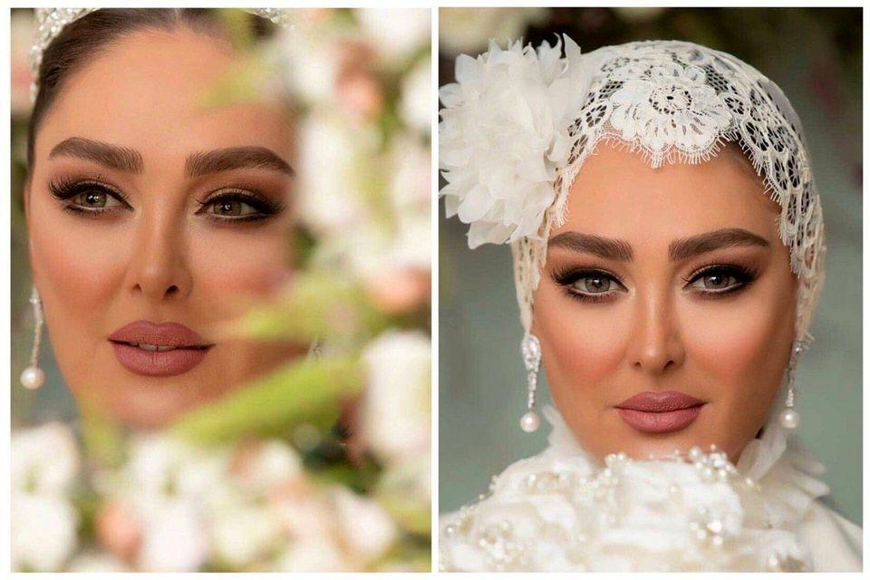 عکسهای عاشقانه الهام حمیدی با همسرش+ عکس های دیده نشده  و بیوگرافی