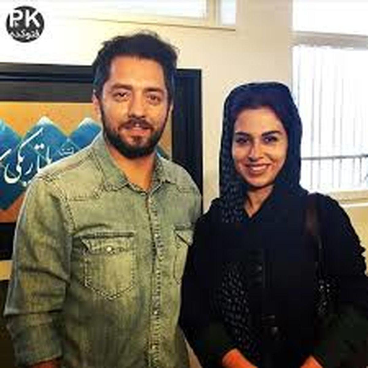 عکس لورفته از بهرام رادان در کنار همسر اول اقای بازیگر + عکس خصوصی