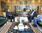 دیدار مدیرعامل شرکت فولاد خوزستان با معاون وزیر راه و شهرسازی