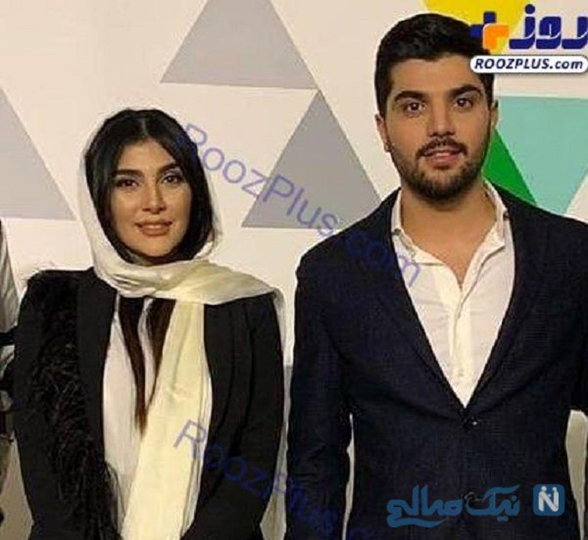 عکس لورفته از سینا مهراد در کنار عروس جدیدش در لباس دامادی + عکس دونفره
