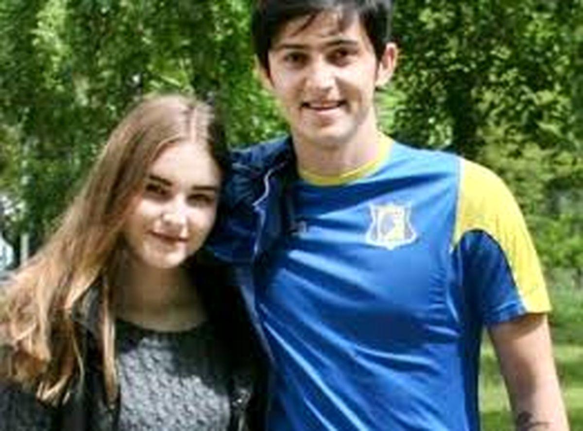 مراسم ازدواج سردار ازمون و دختر زیبای روسی + عکس لورفته