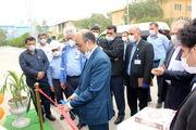 افتتاح شعبه بانک تجارت در پتروشیمی شهید تندگویان