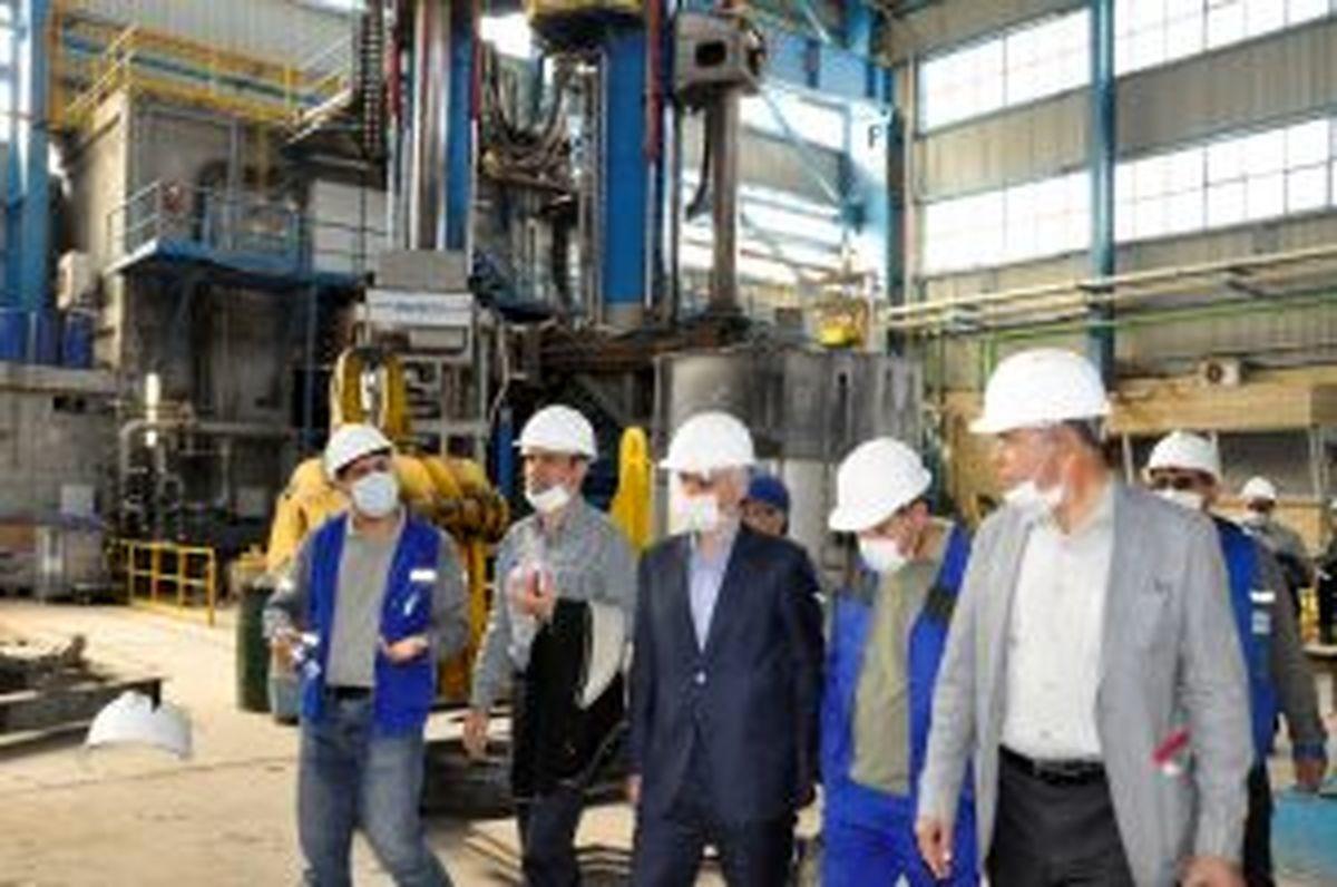بازدید مدیر عامل و اعضا هیأت مدیره ذوبآهن اصفهان از مجتمع صنعتی اسفراین