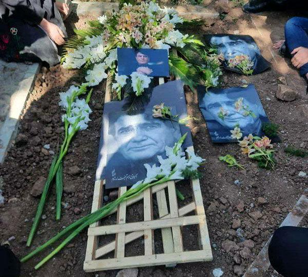 اولین تصویر از مزار استاد شجریان پس از تدفین