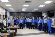 دیدار نوروزی رئیس مجتمع پتروشیمی شهید تندگویان با کارکنان پس از تحویل سال