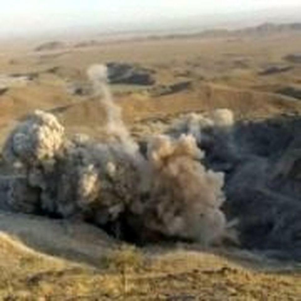 استخراج ۵۰هزار تن ماده معدنی در آتشباری معادن مس تکنار