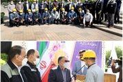 تجلیل از شهدای کارگر و کارگران نمونه در ذوبآهن اصفهان