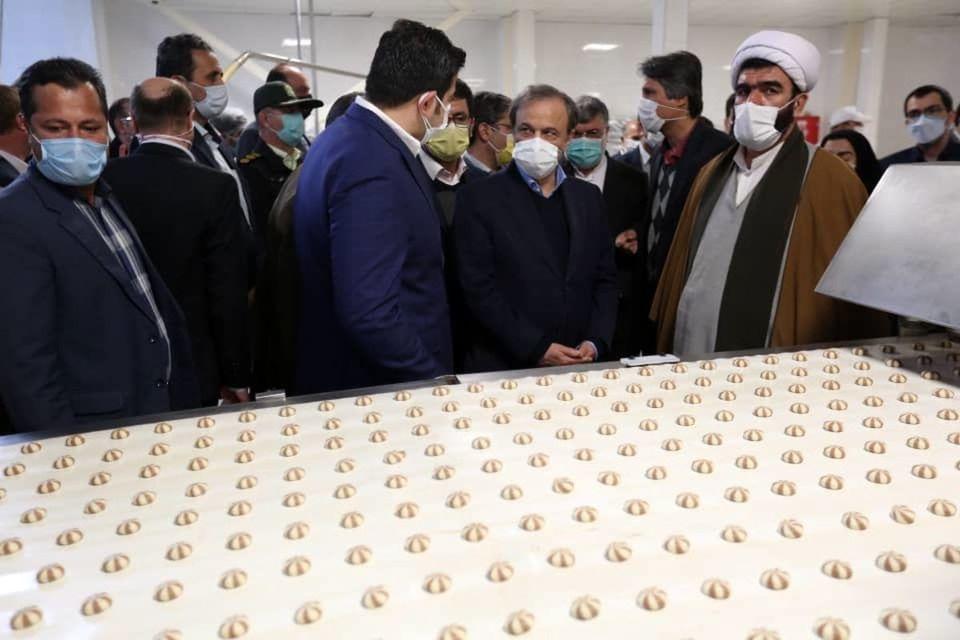 افتتاح شرکت ساینا دوین شرق در شهرستان چناران/ اشتغالزایی مستقیم برای بیش از ۲۳۰ نفر