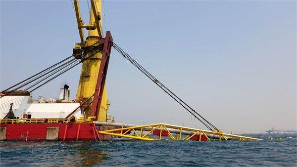 تکمیل بخش نخست دومین خط لوله صادرات میعانات گازی سایت دو پارس جنوبی